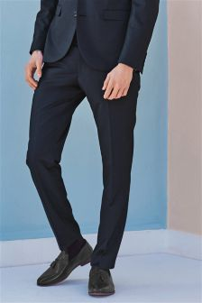 Slim Fit Suit: Trousers