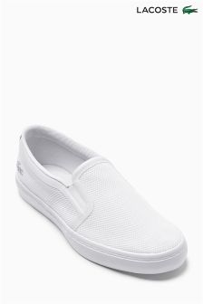 White Lacoste® Gazon Slip-On 116