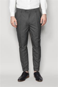 Tile Check Trousers