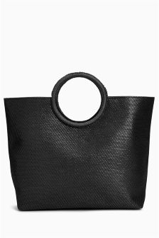 Large Ring Handle Bag
