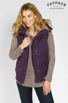 Fat Face Blackberry Heritage Gilet