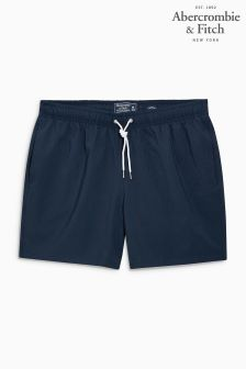 Abercrombie & Fitch Navy Swim Short
