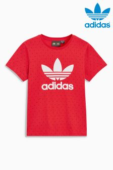 adidas Origianls Power Red Spot Boyfriend Tee