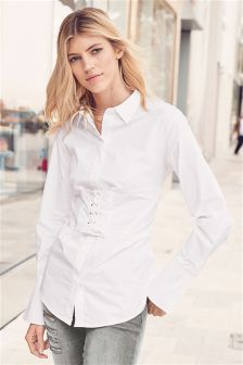 Womens White Shirts | Ladies White Tops & Blouses | Next UK