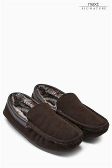 Signature Luxury Suede Moccasin