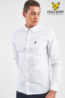 White Lyle & Scott Oxford Shirt