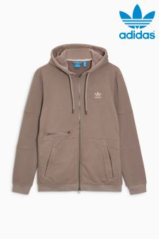 adidas Originals Trace Brown Zip Through Hoody
