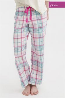 Joules Pink Check Bottoms