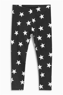 Star Print Leggings (3-16yrs)