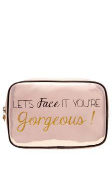 Face IT Slogan Make-up Bag