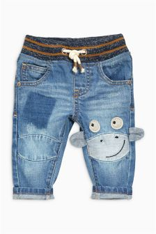 Monkey Character Jeans (3mths-6yrs)