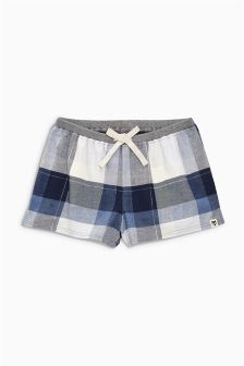 Flannel Check Short