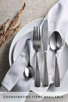 16 Piece Cutlery Set Studio Collection By Next