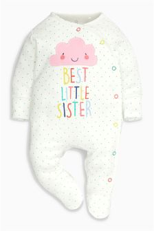 Sister Cloud Sleepsuit (0-18mths)