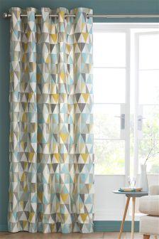 Teal Curtains Plain Amp Patterned Aqua Curtains Next