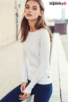 Superdry Ice Marl Luxe Mini Cable Knit