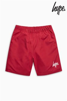 Hype Burgundy Swim Short