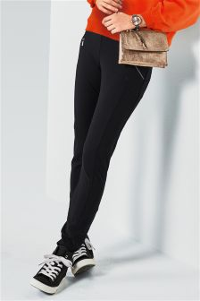 Mesh Zip Leggings
