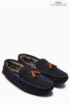 Signature Luxury Suede Tassel Moccasin