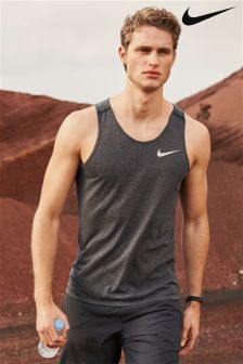 Nike Black Tailwind Tank Top