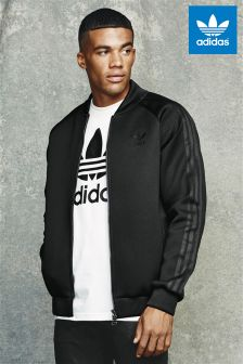 adidas Originals Black Berlin Neoprene Superstar Jacket