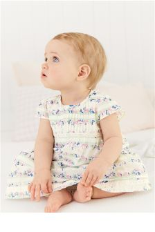 Floral Dress And Knickers Set (0mths-2yrs)