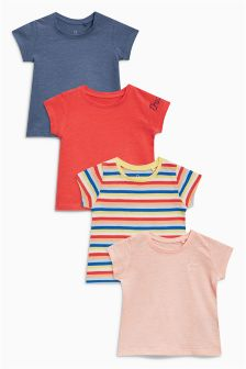 Stripe T-Shirts Four Pack (3mths-6yrs)