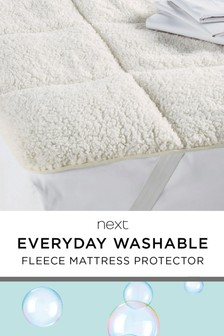 Supersoft Fleece Mattress Topper