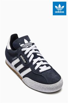 Navy adidas Originals Samba Super Suede
