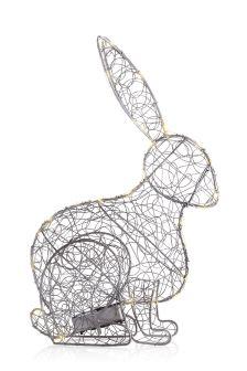 Solar Ralphy Rabbit Wire Frame Light