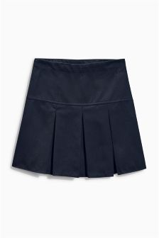 Longer Length Pleated Skirt (3-16yrs)
