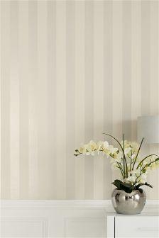 Glitter Stripe Wallpaper