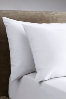 Set Of 2 Egyptian Cotton Pillowcases