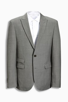 Buy Men's suits Suits Grey Slim Fit from the Next UK online shop