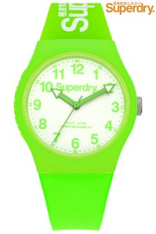 Green Superdry Watch