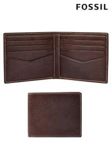 Brown Fossil™ Leather Wallet