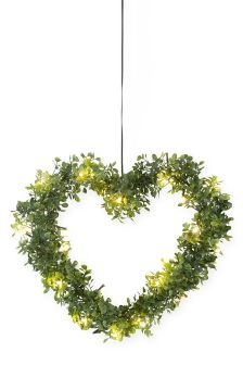 Solar Topiary Heart