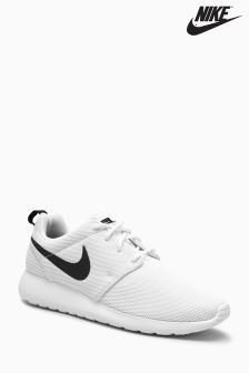 Nike White/Black Roshe 1