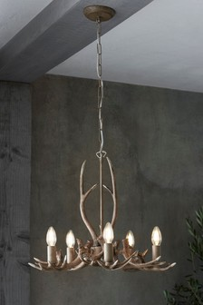 Antler 5 Light Chandelier
