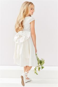 Premium Silk Bridesmaid Dress (3-12yrs)