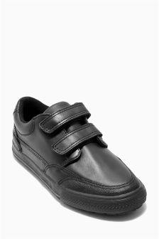 Leather Strap Shoes (Older Boys)