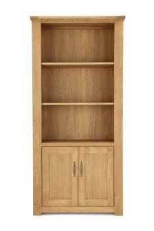 Cambridge® Light Tall Shelves With 2 Door Cupboard