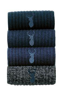 Chunky Socks Four Pack