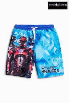Power Rangers Swim Shorts (3-12yrs)