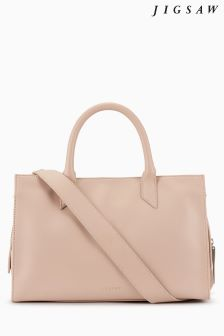 Jigsaw Pink Margot Work Bag