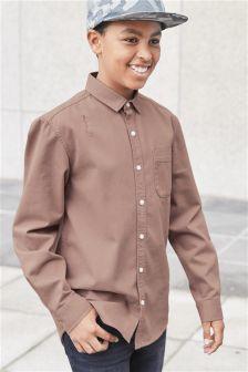 Long Sleeve Distressed Shirt (3-16yrs)