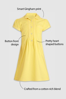Girls Yellow Dresses | Yellow Printed Dresses | Next Official Site
