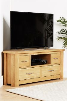Cambridge® Light Corner TV Unit