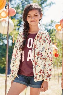 Floral Cagoule (3-16yrs)
