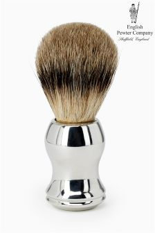 English Pewter Company Shaving Brush